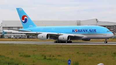 F-WWAT - Airbus A380-861 - Korean Air