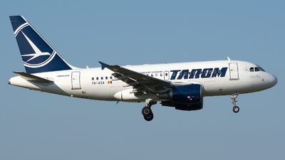 YR-ASA - Airbus A318-111 - Tarom - Romanian Air Transport