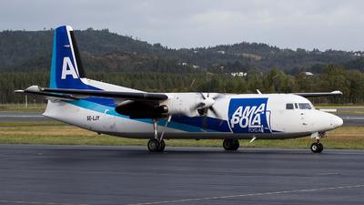 SE-LJY - Fokker 50 - Amapola Flyg