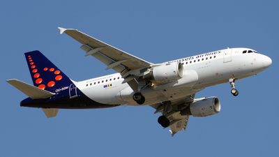 OO-SSM - Airbus A319-112 - Brussels Airlines