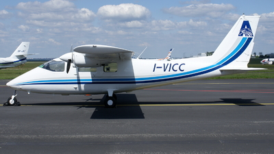 I-VICC - Partenavia P.68B Victor - AFOC Aerial Survey