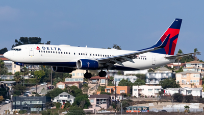 A picture of N3766 - Boeing 737832 - Delta Air Lines - © Ricky Teteris