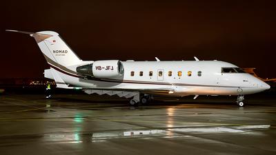 HB-JFJ - Bombardier CL-600-2B16 Challenger 604 - Nomad Aviation