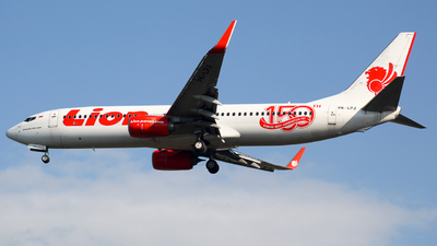 A picture of PKLPJ - Boeing 7378GP - Lion Air - © Herison Riwu Kore