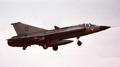 12 - Saab J-35Ö Mk.II Draken - Austria - Air Force