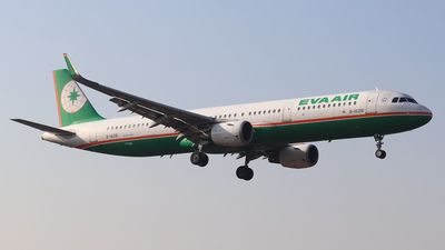A picture of B16216 - Airbus A321211 - EVA Air - © SS7D-0027