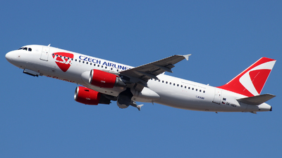 A picture of OKHEU - Airbus A320214 - Czech Airlines - © n94504