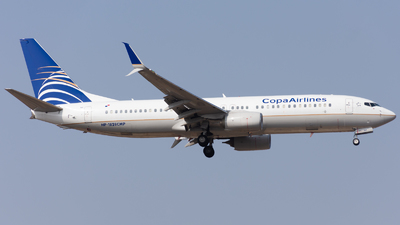 HP-1828CMP - Boeing 737-8V3 - Copa Airlines