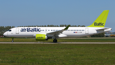 A picture of YLCSM - Airbus A220300 - Air Baltic - © BaszB