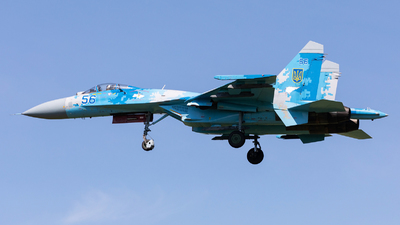 56 - Sukhoi Su-27 Flanker - Ukraine - Air Force