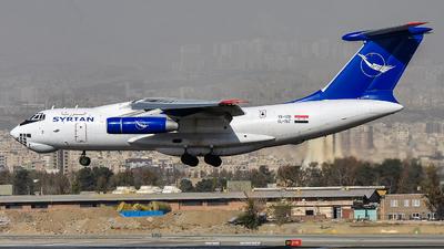 YK-ATD - Ilyushin IL-76T - Syrianair - Syrian Arab Airlines