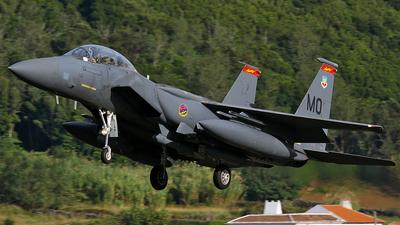 87-0198 - McDonnell Douglas F-15E Strike Eagle - United States - US Air Force (USAF)