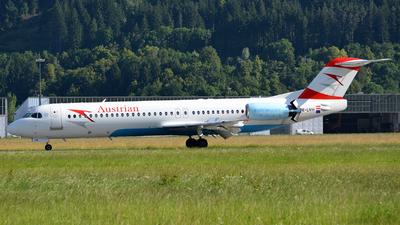 OE-LVH - Fokker 100 - Austrian Airlines