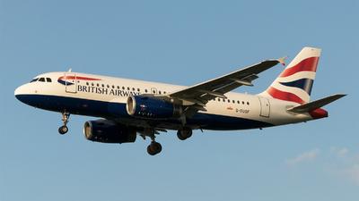 A picture of GEUOF - Airbus A319131 - British Airways - © Daniel Riederer