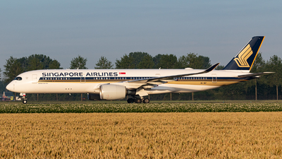 A picture of 9VSMT - Airbus A350941 - Singapore Airlines - © Andre Pfitzner