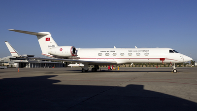 09-001 - Gulfstream G550 - Turkey - Air Force