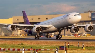 HS-TNF - Airbus A340-642 - Thai Airways International