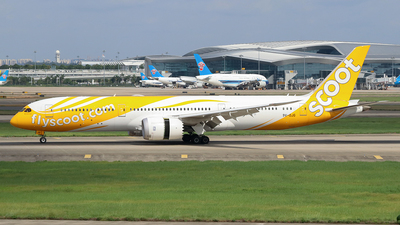 A picture of 9VOJG - Boeing 7879 Dreamliner - Scoot - © Jerry.H