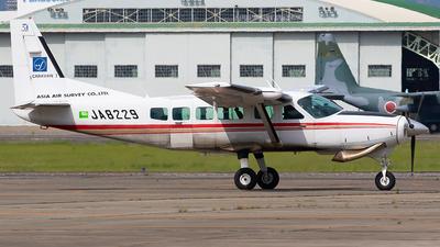 JA8229 - Cessna 208 Caravan - Asia Air Survey