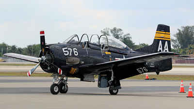 N228TS - North American T-28B Trojan - Private