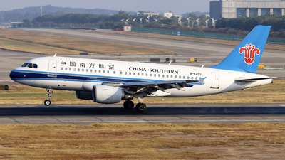 A picture of B6202 - Airbus A319112 - China Southern Airlines - © nibrage
