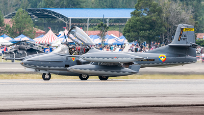 FAC2187 - Cessna A-37B Dragonfly - Colombia - Air Force