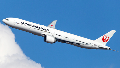 A picture of JA731J - Boeing 777346(ER) - Japan Airlines - © Wenjie Zheng