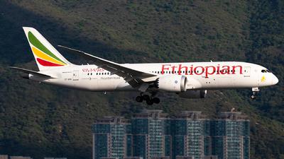 A picture of ETASH - Boeing 7878 Dreamliner - Ethiopian Airlines - © Nestor Hung