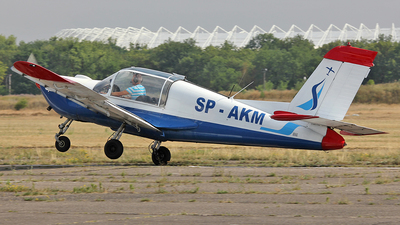 SP-AKM - Socata MS-892A Rallye Commodore 150 - Aero Club - Pomorski