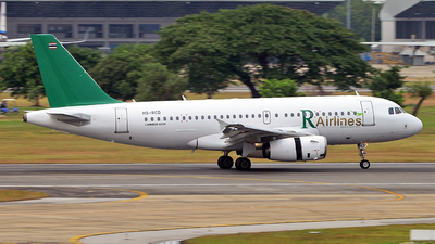 HS-RCD - Airbus A319-132 - R Airlines