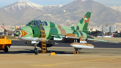 15-2464 - Sukhoi Su-22UM Fitter - Iran - Revolutionary Guard