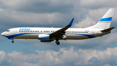 SP-ESB - Boeing 737-8Q8 - Enter Air