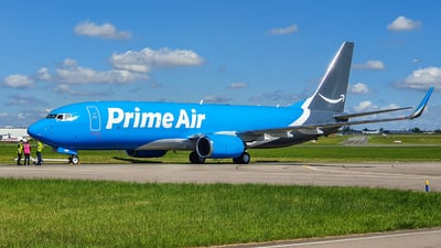 N855DM - Boeing 737-83N(BCF) - Amazon Prime Air (Southern Air)