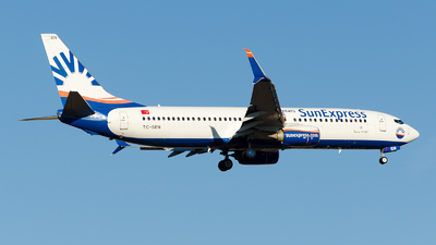 A picture of TCSEN - Boeing 7378HC - SunExpress - © Alp AKBOSTANCI