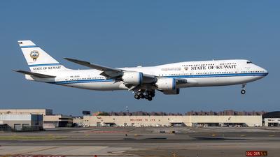 A picture of 9KGAA - Boeing 7478JK(BBJ) -  - © Mark Szemberski