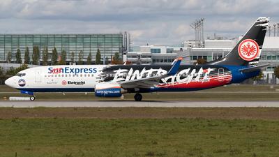 A picture of TCSPC - Boeing 7378AS - SunExpress - © Maximilian Haertl
