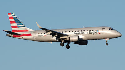 N123HQ - Embraer 170-200LR - American Eagle (Republic Airways)