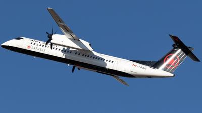 A picture of CGUJZ - De Havilland Canada Dash 8400 - Air Canada - © Mike MacKinnon