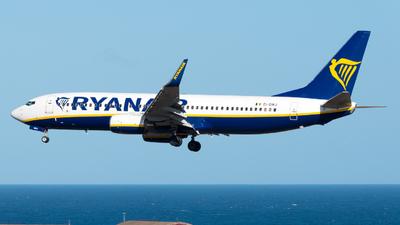 A picture of EIDWJ - Boeing 7378AS - Ryanair - © Pablo Gonzalez de Leon