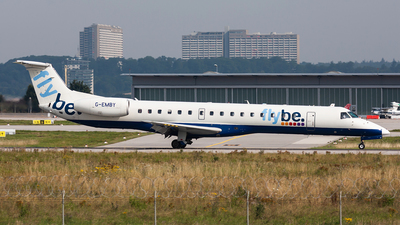 G-EMBY - Embraer ERJ-145EU - Flybe