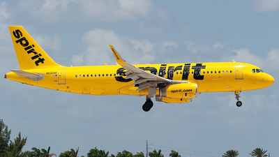 A picture of N620NK - Airbus A320232 - Spirit Airlines - © Mark Lawrence