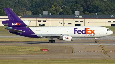 N389FE - McDonnell Douglas MD-10-10(F) - FedEx