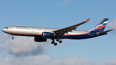 A picture of VPBDD - Airbus A330343 - Aeroflot - © Sierra Aviation Photography