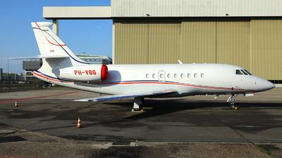 A picture of PHVBG - Dassault Falcon 2000EX - JetNetherlands - © R. Eikelenboom