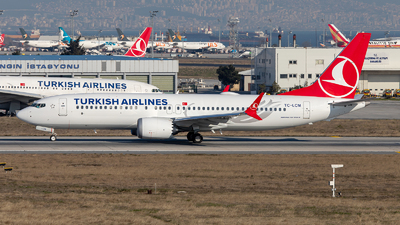 TC-LCM - Boeing 737-8 MAX - Turkish Airlines