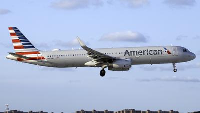 N107NN - Airbus A321-231 - American Airlines