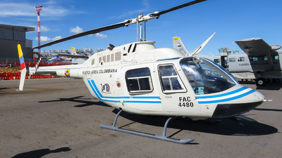FAC4480 - Bell 206B JetRanger III - Colombia - Air Force
