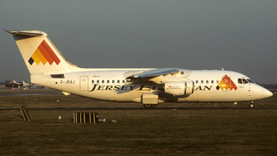 G-JEAJ - British Aerospace BAe 146-200 - Jersey European Airways