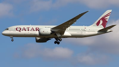 A picture of A7BDC - Boeing 7878 Dreamliner - Qatar Airways - © Ferenc Kolos