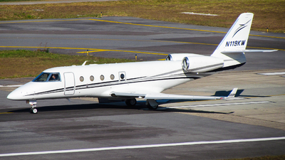 N119KW - Gulfstream G150 - Private